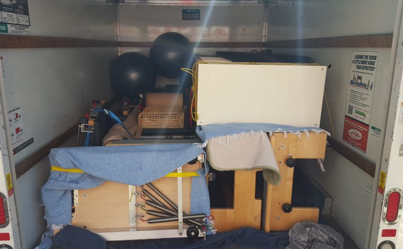 How to Move your Pilates Equipment Part 1: Packing Up